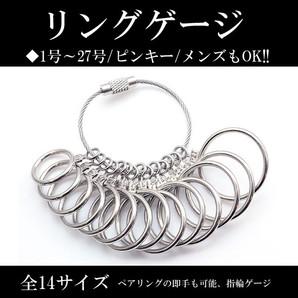 『大特価!』リングサイズゲージ!指輪の各サイズが測れる♪1号~27号♪奇数全14サイズ!Ss-3017