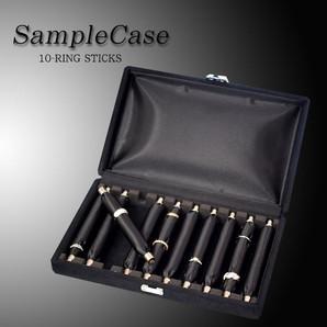 【VISAGE】 ◆ サンプルケース! リング棒10本差し♪♪高級指輪ケース♪♪/VB-307