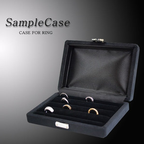 【VISAGE】 ◆ サンプルケース! リング4列24本差し♪♪指輪ケース♪♪/VB-300